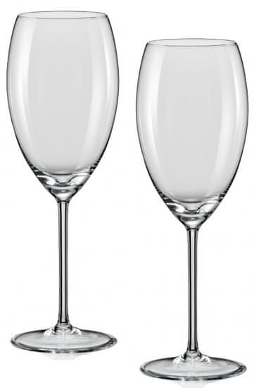 Crystalex čaše za vino Grandioso, 450 ml, 2 komada