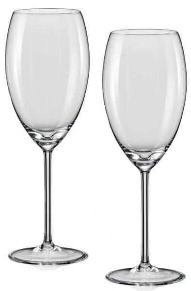 Crystalex sklenice na víno Grandioso 450 ml, 2 ks