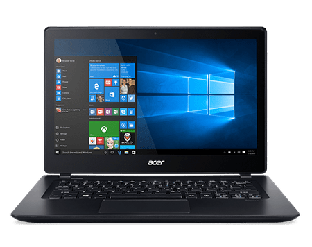 "Acer Aspire 13,3"" FHD Multi-touch V3-372T-57PR - Windows® 10 Home Notebook, Fekete"