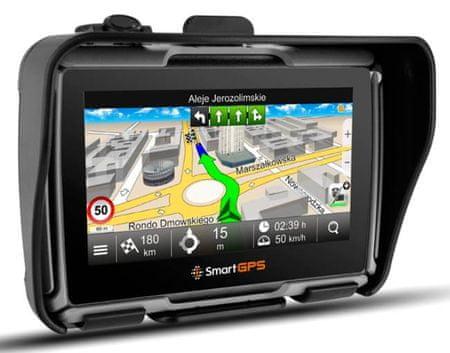 SmartGPS nawigacja SG43 MOTO