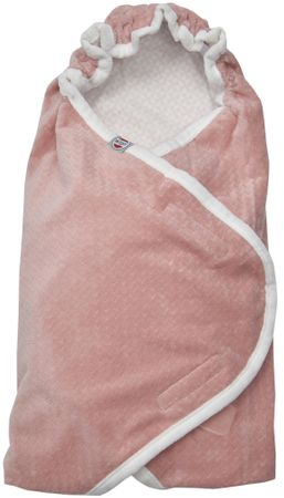 Lodger Wrapper Newborn Scandinavian Flannel, Blush