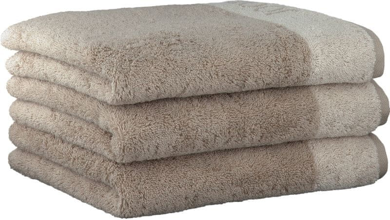 Joop! ručníky Breeze 50x100 cm, 3 ks šedá