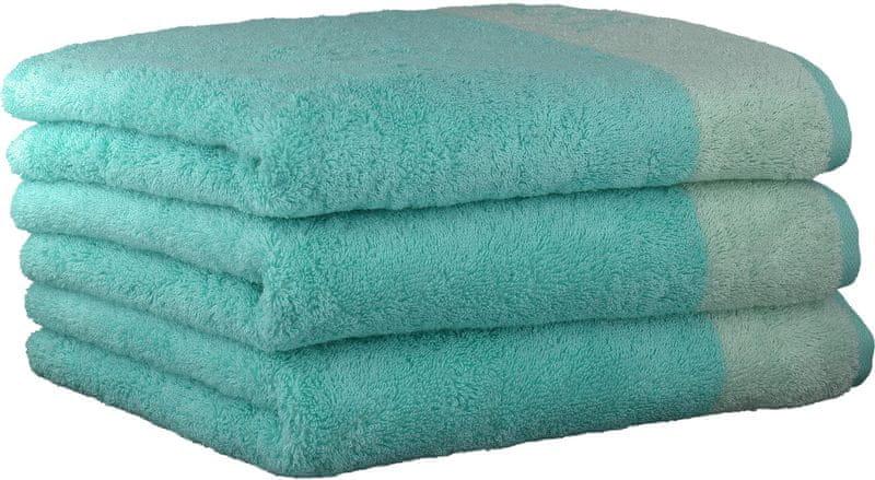 Joop! ručníky Breeze 50x100 cm, 3 ks světle modrá