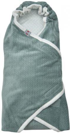 Lodger Wrapper Newborn Scandinavian Flannel, Feather