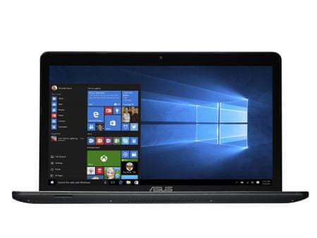Asus X751SA-TY004D Notebook, Fekete