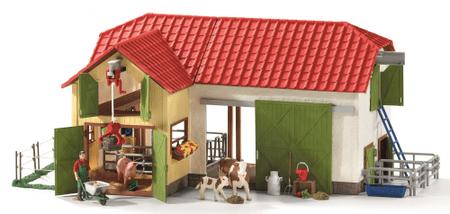 Schleich Duża farma ze zwierzętami i akcesoriami