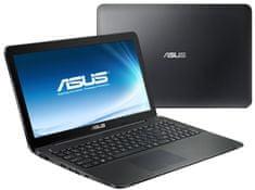 Asus X554SJ-XX072D Notebook, Fekete
