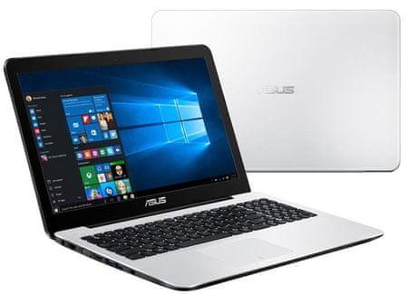 Asus X554SJ-XX071D Notebook, Fehér