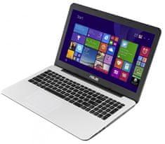 Asus X554SJ-XX056D Notebook, Fehér