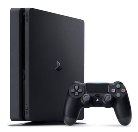 Sony Playstation 4 Slim, 500 GB, črn