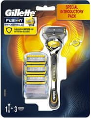 Gillette Fusion Proshield Flexball strojek + 4 hlavice