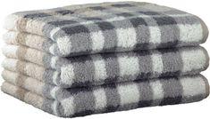 Joop! ručníky Breeze checked 50x100 cm, 3 ks