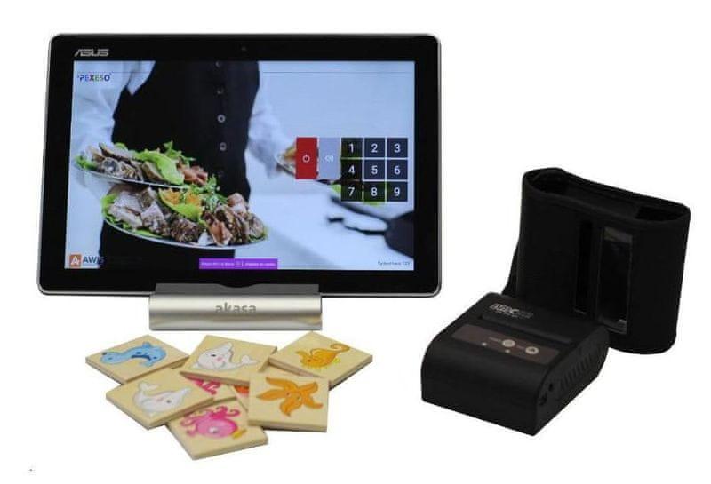 """EET BOX pokladna ASUS zenPAD 8"""" vč. prodejního SW Pexeso + mobilní Bluetooth tiskárna"""