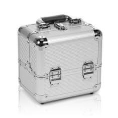 Donegal kuferek aluminiowy srebrny 25 / 20 / 26 cm