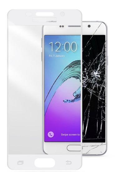 CellularLine ochranné tvrzené sklo CAPSULE , Galaxy A5 (2016), bílé