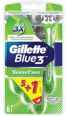 Gillette Blue3 Sensitive 5+1ks