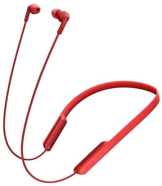 Sony MDR-XB70BTR, červená