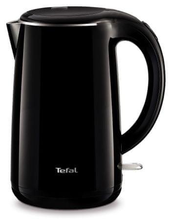 Tefal grelnik vode KO260830 Double Layer, 1,7 l, črn - odprta embalaža