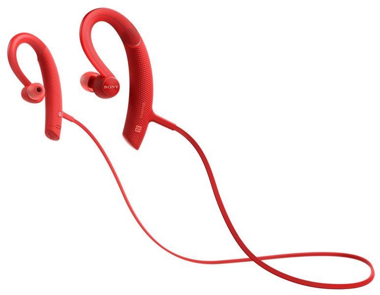 Sony MDR-XB80BSR, červená