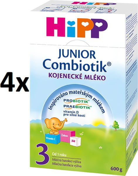 HiPP 3 Junior Combiotic - 4 x 600g