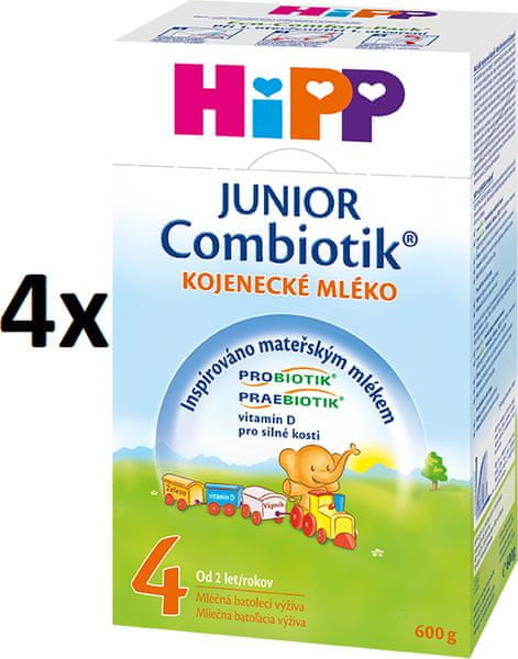 HiPP 4 Junior Combiotic - 4 x 600g