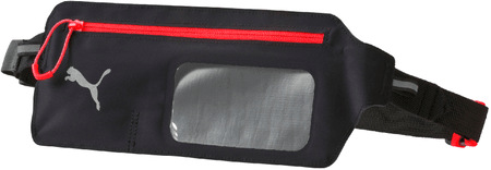 Puma pasna torbica Flat Waist Bag, črno-rdeča