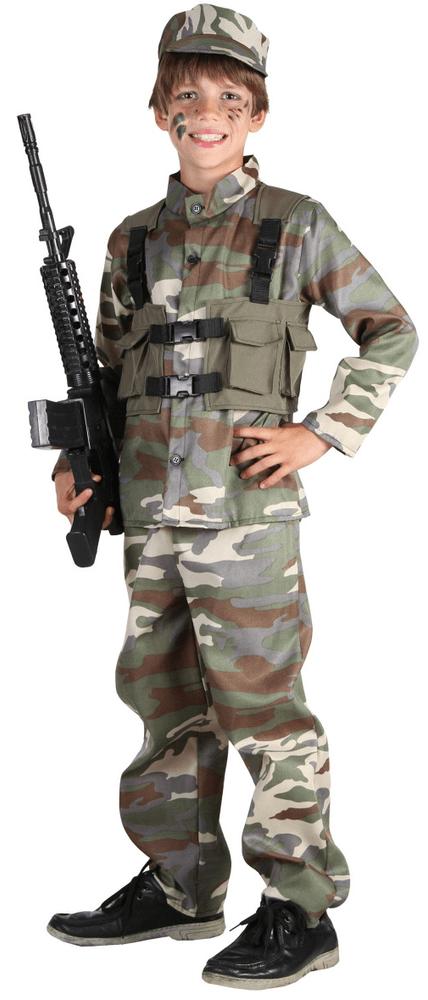 MaDe Kostým Voják, M