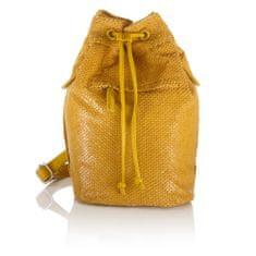 Boscha plecak damski zółty
