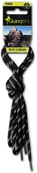 Granger´s Laces Black/Grey 150 cm