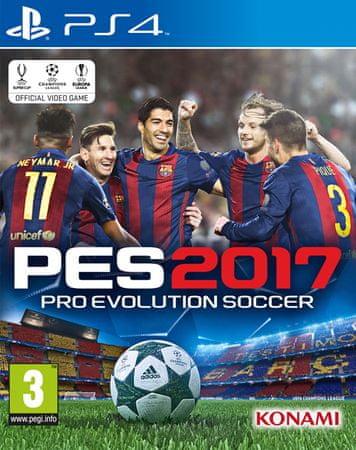 Konami PES 2017 (PS4)