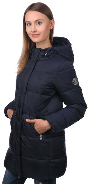 Gant dámská péřová bunda M modrá