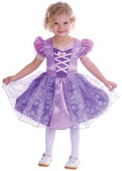 MaDe kostum Vijolična princesa, XS