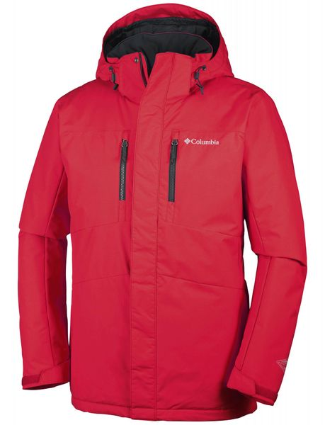 Columbia Alpine Vista II Jacket Mountain Red XXL