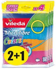 Vileda Mikrohadřík Colors 4 ks, balení 2+1