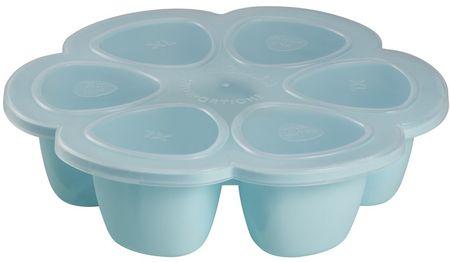 Béaba Multi-dávkovač na jedlo 6x150 ml, modrý