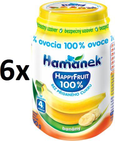 Hamánek Happy Fruit s banánmi 6x190g