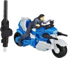 Avengers Figurka na motocyklu Winter Soldier
