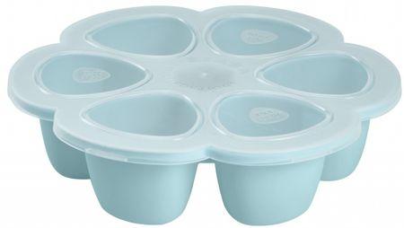 Béaba Multi-dávkovač na jedlo 6 x 90 ml, modrý