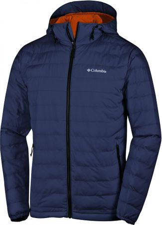 Columbia Powder Lite Hooded Jckt Collegi Navy XXL