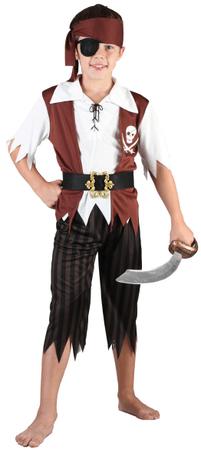 MaDe Kostým Pirátský plavčík, M