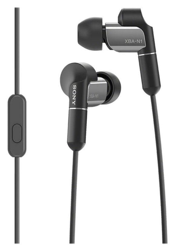 Sony XBA-N1AP sluchátka s mikrofonem