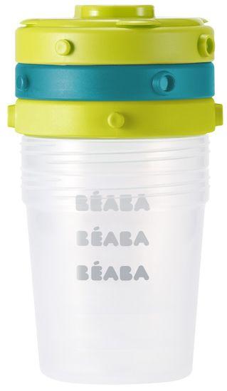 Beaba Tárolóedények élelmiszerekhez, 6x200 ml