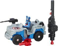 Avengers Figurka na motocyklu Kapitan Ameryka
