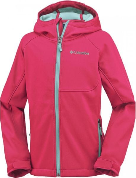 Columbia Cascade Ridge Softshell Red Camellia L