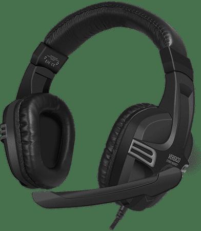 Speedlink Slušalke Versico stereo, črno-sive