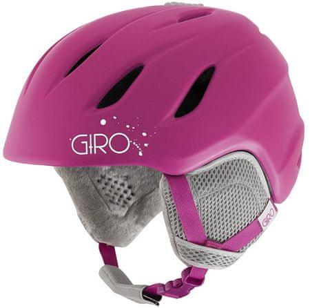 Giro Nine Jr Mat Magenta M (55,5-59 cm)