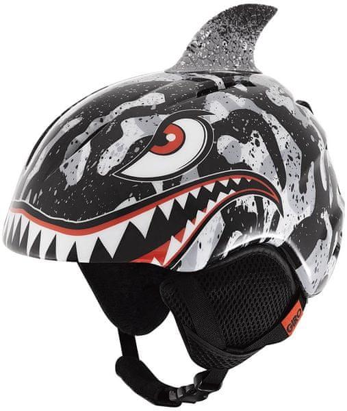 Giro Launch Plus Black/Grey Tiger Sharks S (52-55,5 cm)