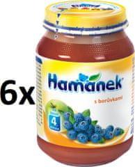 Hamánek S borůvkami 6x190g