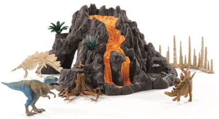 Schleich Veľká sopka 42305