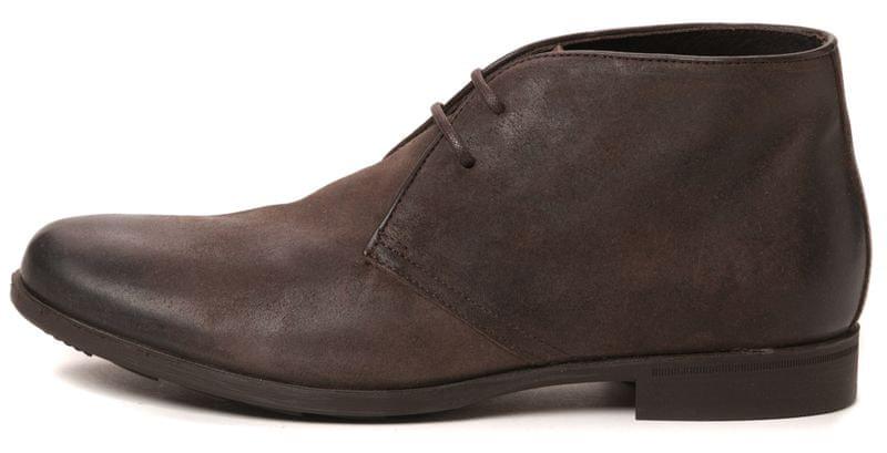 Geox pánská kotníčková obuv 43 hnědá